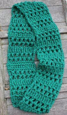 Skein and Hook: Free Crochet Pattern: Benson Infinity Scarf