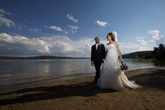 Quand romantisme et nature se rencontrent... #plage #mariage #lanaudière