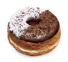 Mr.Croissant Donut(ミスタークロワッサンドーナツ)チョコ&カスタード