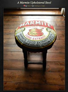 The best looking seat in the house! Marmite Gifts, Star Wars Watch, Upholstered Stool, Geek Chic, Real Leather, How To Look Better, Upholstery, Geek Stuff, Advertising