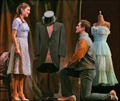 Josefina Scaglione and Matt Cavenaugh (2009 Revival). Dress shop scene