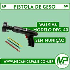 Pistola de Geso, Walsiva, modelo DFG. 40, Sem Munição. Acesse nossa loja virtual, e confira muitos outros produtos Mecânica Palis! Entre e confira: www.mecanicapalis.com.br
