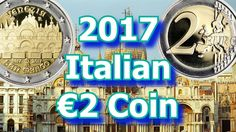 The Italian Mint(Istituto Polografica e Zecca dello Stato or IPZS for short) has now released the first commemorative circulating for Italy of The c. Saint Mark's Basilica, Commemorative Coins, Neon Signs, Italy, Italia