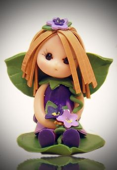 April Baby Fairy by fairiesbynuria on Etsy, $12.00