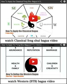 You can easily apply the bagua when you know the feng shui compass reading. You can also easily apply the Western, or BTB bagua. Watch these tow feng shui videos to see how to apply your bagua and be sure to read the tips, too.