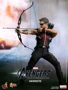 Hawkeye Figure....too cool!!