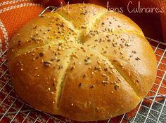 Khobz dar a la semoule {pain maison} | Le blog de Samar