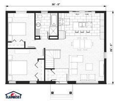 Zen & Contemporary | LAP0370 | Maison Laprise - Prefabricated Homes