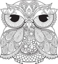 Lesley Owl couleur avec moi Bonjour ange par HelloAngelCreative: