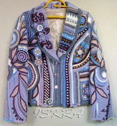 Freeform Crochet Jacket