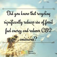Fact about recycle   #wasteconnects #recycle #recycled #recycling #waste #wastemanagement #repurpose #reuse #nature
