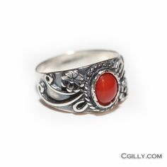 cgilly — Ring - Southwest OxBlood Coral
