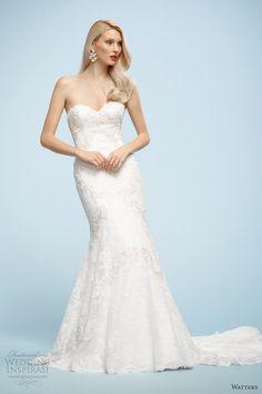 Watters Brides Spring 2013 Wedding Dresses | Wedding Inspirasi