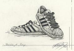 Adidas Superstar – Fashion Sketch