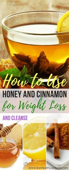 How to Make Cinnamon & Honey for Weight Loss: Best Cleanse Diet Tea Find out why honey and cinnamon cleanse is now being hailed as one the best drinks for dieting and weight loss. Learn how to prepare it and lose weight fast. via Lean Healthy & Wise Detox Cleanse For Weight Loss, Best Cleanse, Lose Weight Fast Diet, Quick Weight Loss Tips, Weight Loss Meals, Cleanse Diet, Lose Weight Naturally, Weight Loss Drinks, Healthy Weight Loss