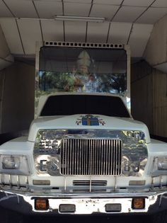 The Pope-mobile when he visited El Salvador in the 1980's on display on the El Salvadoran Military Museum...