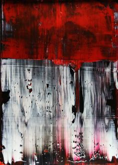 "Saatchi Art Artist Koen Lybaert; Painting, ""Scarlet [Abstract N°2144]"" #art"