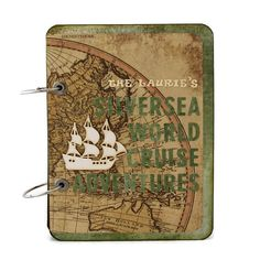 Cruise Adventure Journal  Custom Travel by PreciousLifeMoments