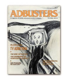 Adbusters #2 - Environmental movement of the mind