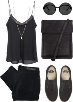 All Black. [source: http://www.polyvore.com/black_31/set?.embedder=4070329&.svc=tumblr=65347502]