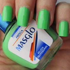 Masglo Fresca #nails #notd #nailart #girl #blogger #model #potd #picoftheday #ootd #oufit #beauty