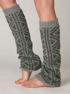 $38 Peruvian pattern legwarmers