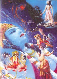 Bhagavatam: Brahma gera vários seres e elementos