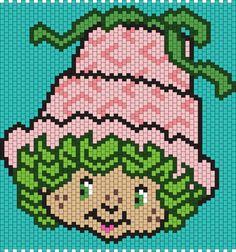 Lime Chiffon From Strawberry Shortcake Bead Pattern