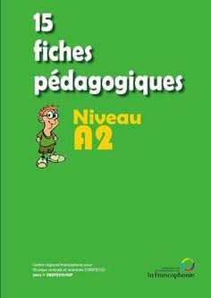 15 fiches pédagogiques - niveau A2