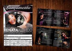 Capa CD da Cantora Renata Azevedo by Anunciatto Propaganda & Marketing, via Behance