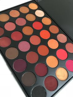 Your perfect everyday bestie is here! The complete combination of orange, browns, burgundy, red and black tones that is highly pigmented and versatile. Wear it daytime with some soft looks and night fierce looks that only you can slay! 35 everyday wearable shades in matte and shimmers. LIMITED SUPPLY AVAILABLE.
