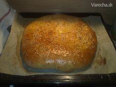 Chačapuri (fotorecept) Russian Recipes, Hamburger, Bread, Pizza, Polish, Food, Basket, Vitreous Enamel, Breads