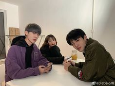 Boy And Girl Best Friends, Korean Best Friends, Three Best Friends, Boy Or Girl, Chanyeol, Boy And Girl Friendship, Dont Touch My Phone Wallpapers, Boy Squad, Cute Korean Boys
