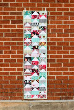 A fun table runner from @jen Inumerable Baker