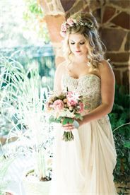 """Kessler Park Styled Shoot.  Model is wearing """"Florence"""" wedding gown by Wtoo found at The Blushing Bride boutique.  Credits:  @brummettvisuals  @natyissa  @diannefrance  Wtoo by Watters wedding gown; Styling by Shana Lepsis."""