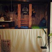 My Shelf/子供部屋/DIY/カフェ風/壁紙屋本舗/押し入れ改造...などのインテリア実例 - 2015-01-20 22:50:18