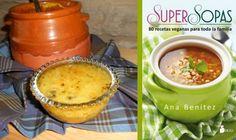 Receta de super sopa de quinoa y calabaza especiada. Del libro Super Sopas