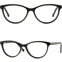 52b88aedf2489 Light Mens Womens Acetate Plastic Frame Spring Hinges Prescription Glasses  Black