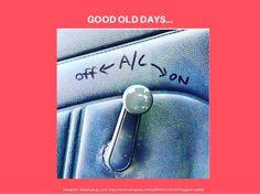 Ahhh...hmmmm... do you all remember this? ;-) #goodolddays #carfail