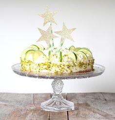 Limetten Quark Torte