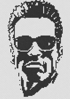 PATTERN: Terminator Cross Stitch