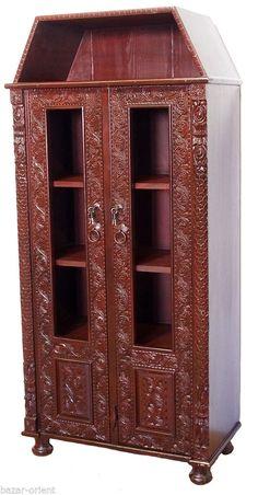 Amazing antik look orient Massiv schrank Kommode Sideboard Regal Afghan Nuristan bedroom