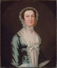 Mrs. Joseph Reade  John Wollaston (active 1733–67)  Date: ca. 1749–52 Medium: Oil on canvas Dimensions: 30 x 25 in. (76.2 x 63.5 cm) Classification: Paintings Credit Line: Purchase, Gift of Mrs. Russell Sage, by exchange, 1948 Accession Number: 48.129.2  This artwork is currently on display in Gallery 774