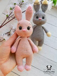 Amigurumi Bunny Crochet pattern, amigurumi rabbit pattern