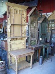 More upcycling ideas for you gathered from Pinterest. Today I am sharing ideas for old shutters...technically I guessyou coulduse new shu...