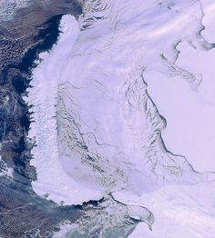 Novaya Zemlya archipelago, Arctic Circle by europeanspaceagency, via Flickr