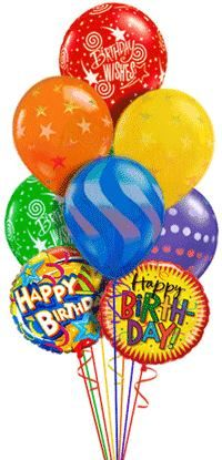 Send these birthday balloons bouquet to your dear ones biurthday in India. Balloons bouquet is a perfect gift for birthday wishes. See more at. http://www.indiangiftscenter.com/balloons.html