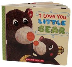 Geared For Imagination Woodours I love You Little Bear (Board Book)