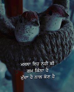 Faith Quotes, True Quotes, Qoutes, Punjabi Love Quotes, Punjabi Poetry, Gulzar Quotes, Story Quotes, Zindagi Quotes, True Feelings