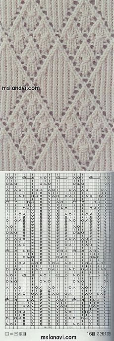 Diamond Lace with Chart